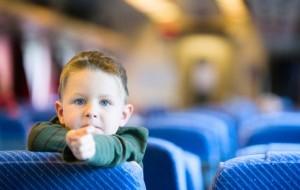 Post image of ستيفن كوفي، والأطفال المزعجين على القطار
